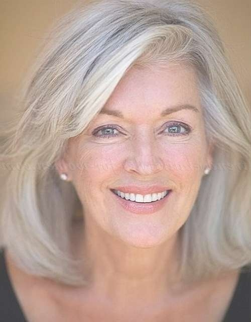 Haircuts Trends 2017/ 2018 – Medium Hair Styles For Women Over 50 Pertaining To 2018 Medium Haircuts With Gray Hair (View 4 of 25)