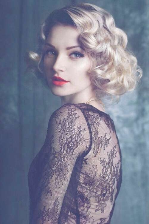 Hairstyle 20's | Hair | Pinterest | Gatsby, 1920S And Hair Style Within Most Popular 20S Medium Hairstyles (View 17 of 25)