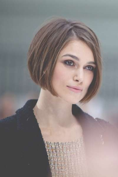 Hairstyle Blog: Keira Knightley's Bob Hairstyle With Regard To Keira Knightley Bob Haircuts (View 11 of 25)