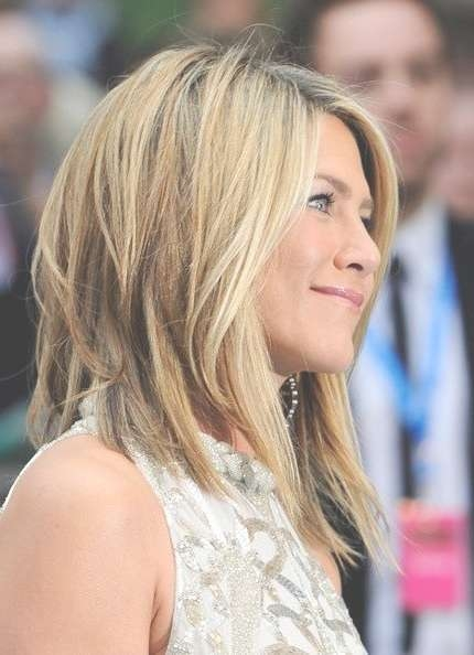 Hairstyle Evolution Of Jennifer Aniston | Jennifer Aniston Long For Jennifer Aniston Long Bob Haircuts (View 11 of 25)