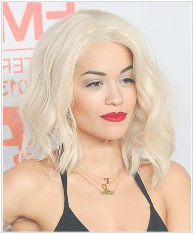 Hairstyle Of The Moment – Waves! With Regard To Current Rita Ora Medium Hairstyles (View 5 of 15)