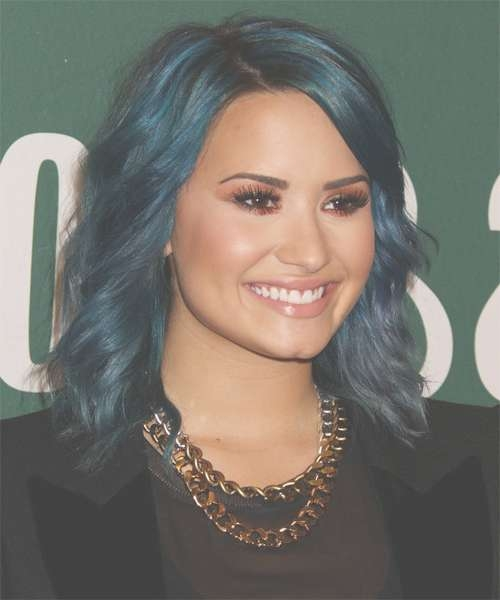 Hairstyles And Haircuts In 2018 | Thehairstyler With Current Demi Lovato Medium Hairstyles (View 10 of 25)