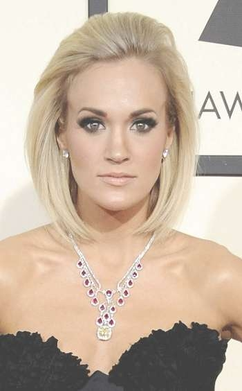 Hairstyles: Carrie Underwood's New Bob Haircut   Sophisticated Pertaining To Carrie Underwood Bob Haircuts (View 12 of 25)