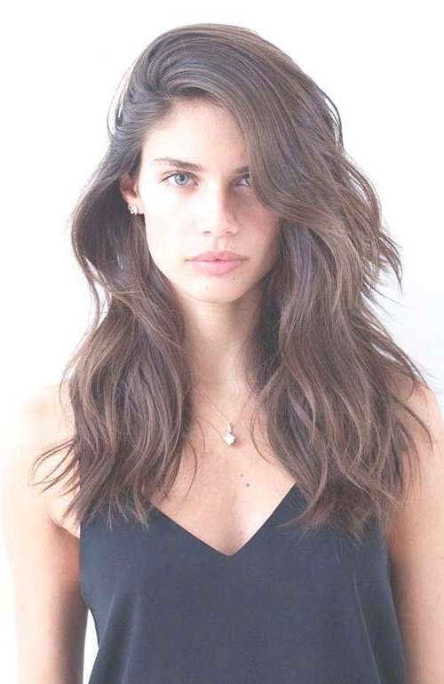 Hairstyles For Half Long Hair Best 25 Medium Long Haircuts Ideas Within Recent Half Long Half Medium Haircuts (View 9 of 15)