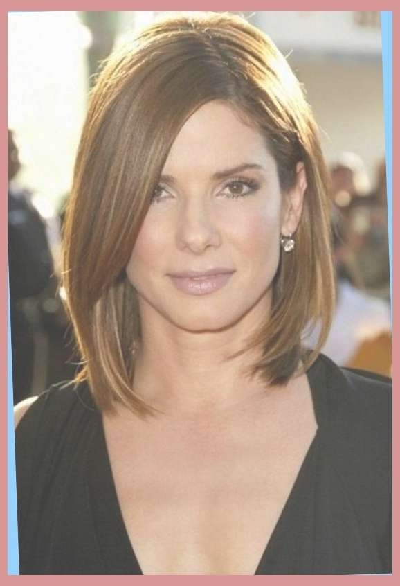 Hairstyles For Long Face Thin Hair Medium Hairstyles Cut Ideas Pertaining To Recent Medium Haircuts On Long Faces (View 9 of 25)