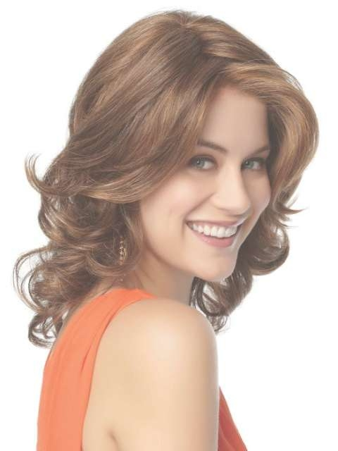 Hairstyles For Long Faces And Medium Length Curly Hair With Regard To Most Popular Medium Haircuts On Long Faces (View 24 of 25)