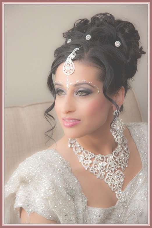 Hairstyles For Party Medium Hair With Regard To Most Popular Indian Bridal Medium Hairstyles (View 2 of 25)