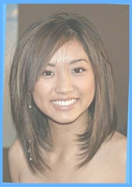 Hairstyles For Round Faces And Thick Hair Medium – Best Hairstyles In Most Recent Medium Hairstyles For Heavy Round Faces (View 7 of 15)