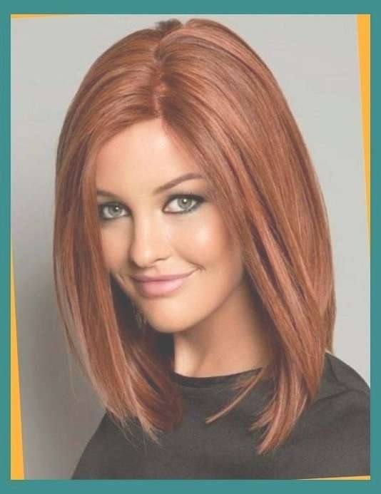 Hairstyles For Round Faces To Bring Your Dream Hairstyle Into Your Intended For Recent Medium Hairstyles For Round Face (View 25 of 25)