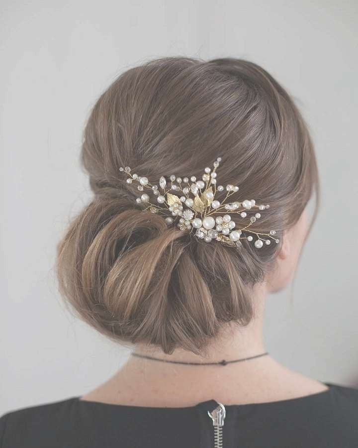Hairstyles For Shoulder Length Hair Half Up Half Down | Beauty Hoster Within Most Up To Date Elegant Medium Hairstyles For Weddings (View 20 of 25)