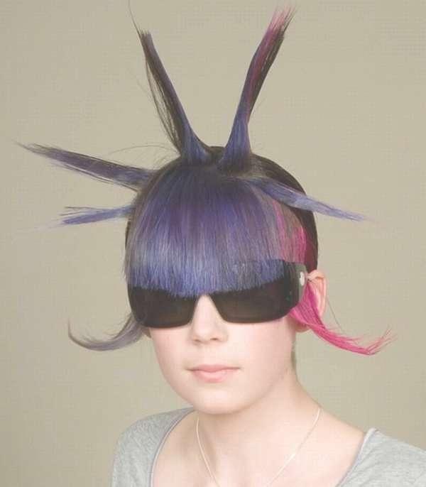 Photos Of Crazy Medium Hairstyles Showing 2 Of 25 Photos