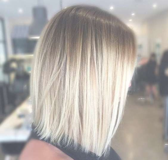 Hairstyles For Thin Medium Length Hair 2017 – Hairstyles Throughout Best And Newest Medium Haircuts For Blondes With Thin Hair (View 14 of 15)