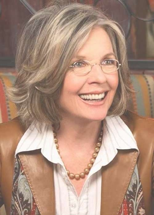 Hairstyles For Women Above 50 With Fine Hair And Glasses Within Most Current Medium Haircuts For Women With Glasses (View 6 of 25)