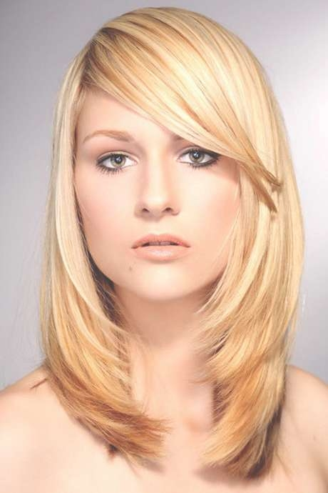 Hairstyles : Hairstyles For Round Faces And Thin Hair Hairstyles Throughout 2018 Medium Hairstyles For Round Faces And Thin Hair (View 12 of 25)