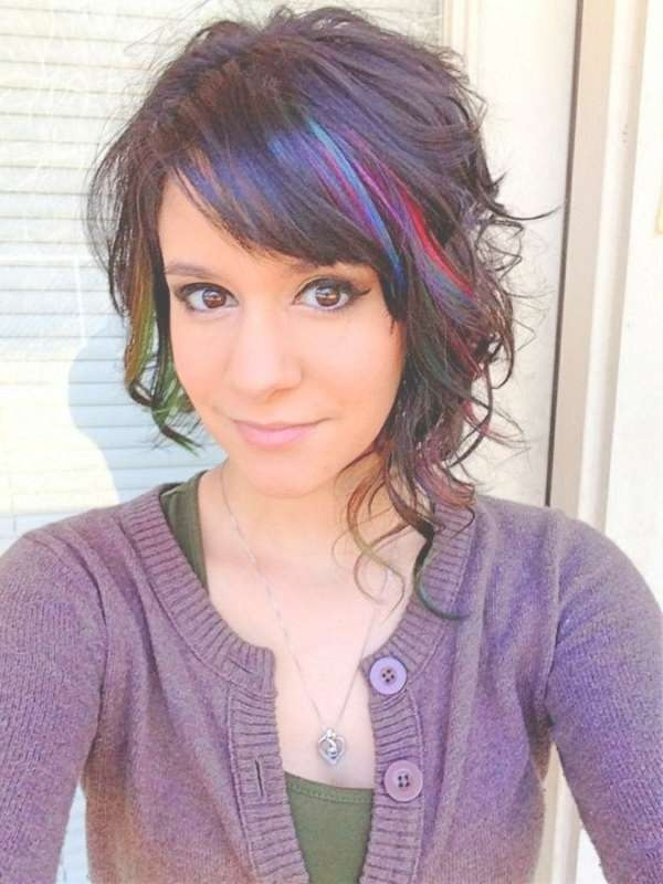 Hairstyles Ideas : Asymmetric Hairstyles 2015 Curly And Straight With Newest Asymmetrical Medium Hairstyles (View 21 of 25)