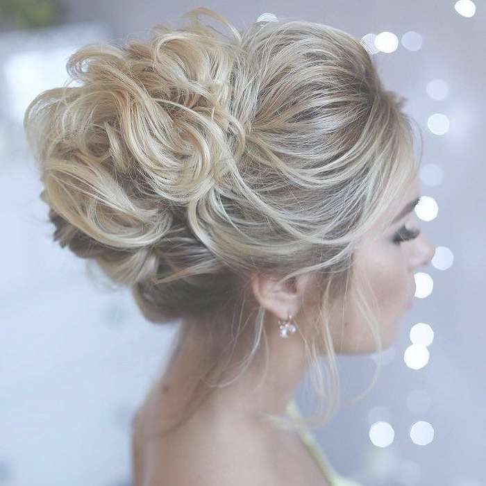 Hairstyles Ideas : Medium Hair Updos Stepstep The Simple And Throughout 2018 Elegant Medium Hairstyles For Weddings (View 21 of 25)