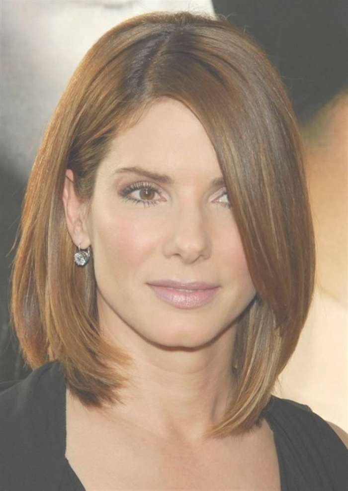 Hairstyles Ideas : Medium Haircuts For Thick Hair And Oval Faces Intended For Best And Newest Medium Haircuts For Oval Faces And Thick Hair (View 11 of 25)