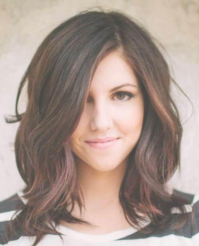 Hairstyles Ideas : Medium Hairstyles For Thick Hair 2016 Medium Intended For Most Popular Medium Haircuts Thick Hair (View 16 of 25)