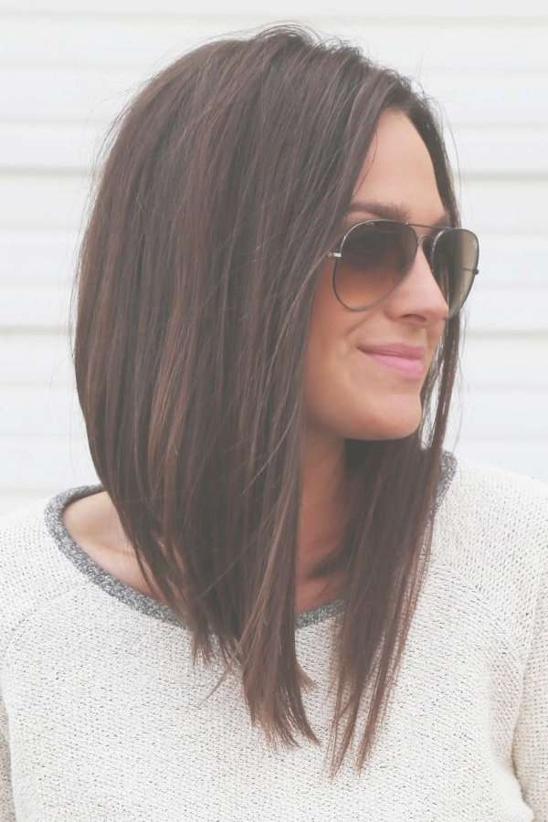 Hairstyles Ideas : Medium Length Asymmetrical Bob Haircuts Medium Inside Most Recently Asymmetrical Medium Haircuts (View 6 of 25)