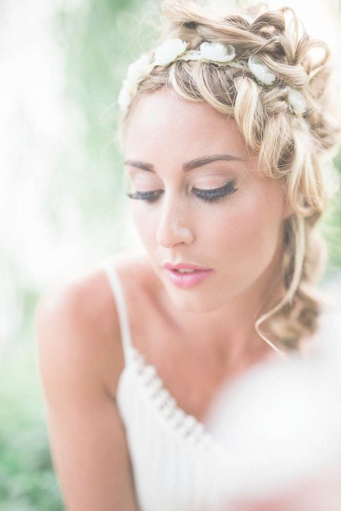 Hairstyles Ideas : Medium Length Hairstyles For A Wedding Medium Inside Most Recent Medium Hairstyles Bridesmaids (View 11 of 25)