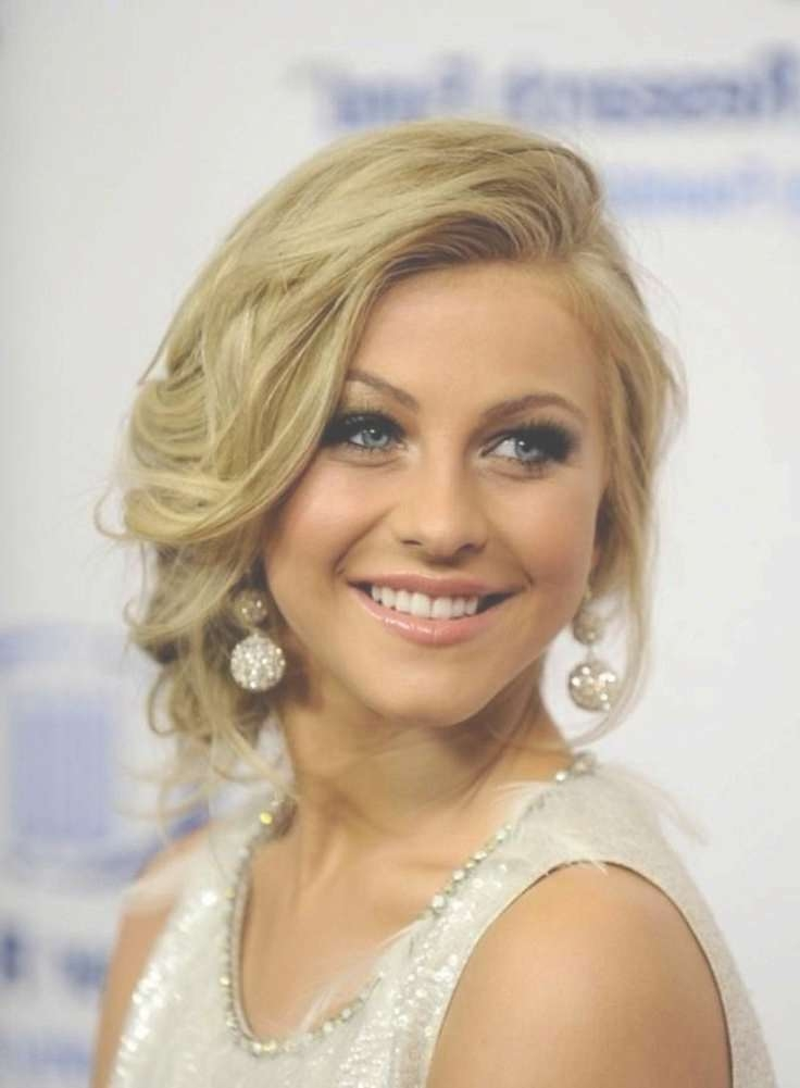 Hairstyles Ideas : Medium Length Updo Hairstyles Tips For Applying Within Current Elegant Medium Hairstyles For Weddings (View 22 of 25)