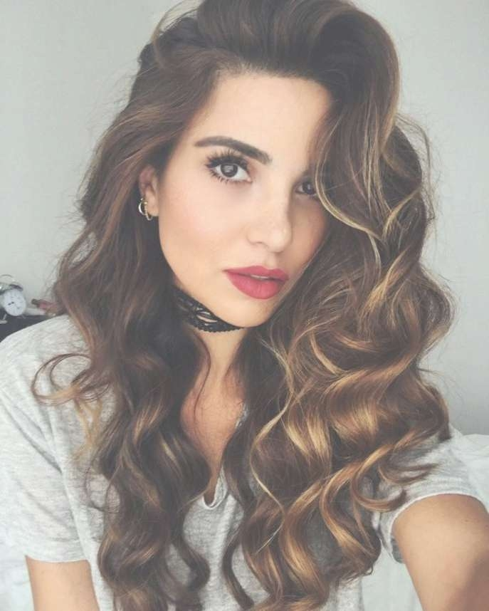 Hairstyles Ideas : Night Hairstyles For Volume Night Hairstyles Throughout Most Up To Date Medium Hairstyles With Volume (View 6 of 25)