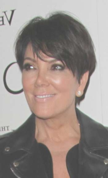 Hairstyles: Kris Jenner – Short Cut With Spiky Sides Pertaining To Current Medium Haircuts Kris Jenner (View 22 of 25)