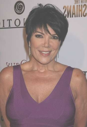 Hairstyles: Kris Jenner – Short Sophisticated Hairstyle With Newest Kris Jenner Medium Hairstyles (View 9 of 15)