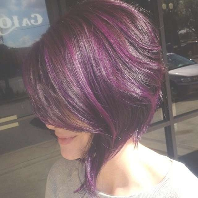 Hairstyles To Do For Purple Bob Hairstyles Fantastic Purple For Best And Newest Purple Medium Hairstyles (View 15 of 25)