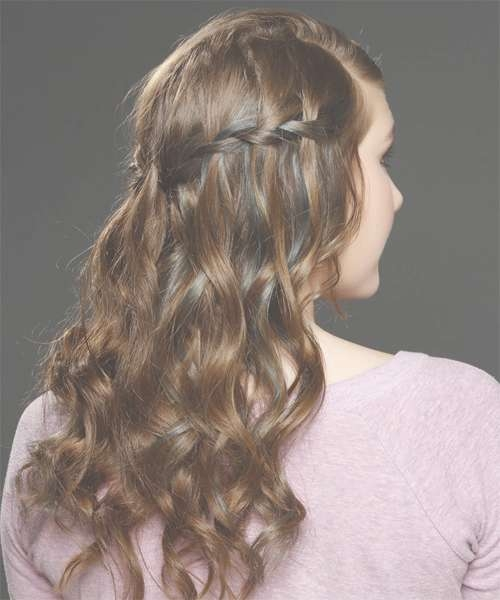 Half Up Half Down Hairstyles In 2018 With Regard To Most Current Half Long Half Medium Hairstyles (View 12 of 15)