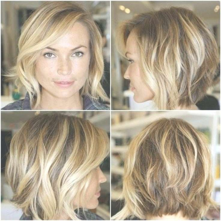 Explore Photos Of Medium Hairstyles For Oval Faces And Fine Hair