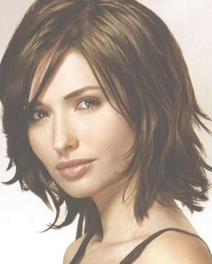 Hottest Medium Long Layered Hairstyle Pertaining To Most Up To Date Choppy Medium Haircuts (View 8 of 25)