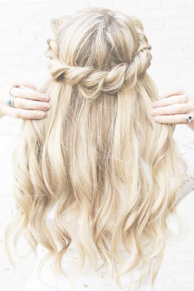Hottest Simple Homecoming Hairstyles For Medium Hair Regarding Most Up To Date