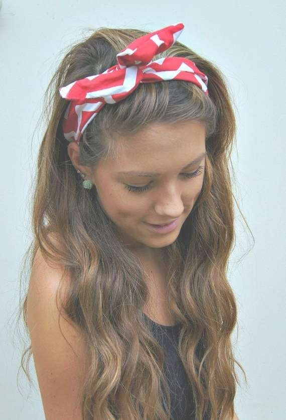 How To Create A Hairstyle With A Bandana – Pretty Designs Within Best And Newest Medium Hairstyles With Bandanas (View 11 of 15)