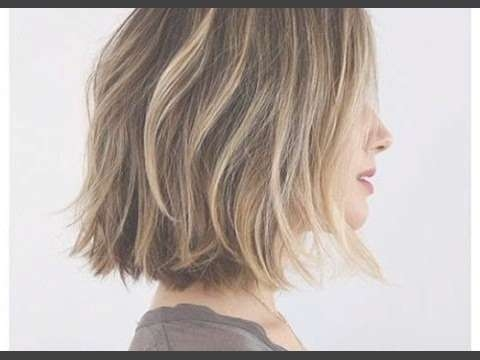 How To: Cut A Layered Bob Haircut Tutorial – Youtube Throughout Layered Bob Haircuts (View 16 of 25)