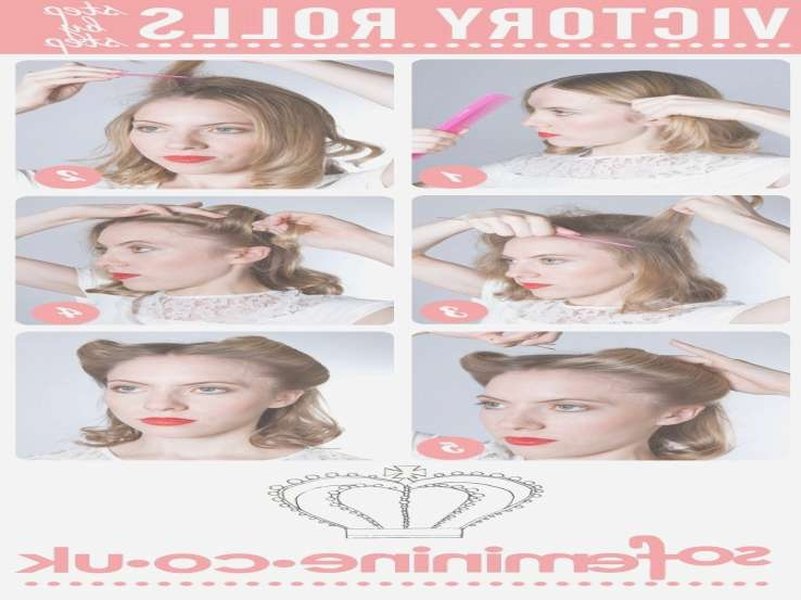 How To Do 1950's Hairstyles For Medium Hair Archives With Most Recently 1950S Medium Hairstyles (View 21 of 25)
