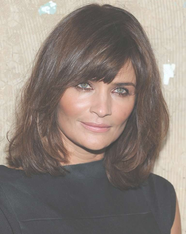 How To Nail The Medium Length Hair Trend Intended For Most Up To Date Medium Hairstyles Without Fringe (View 12 of 25)