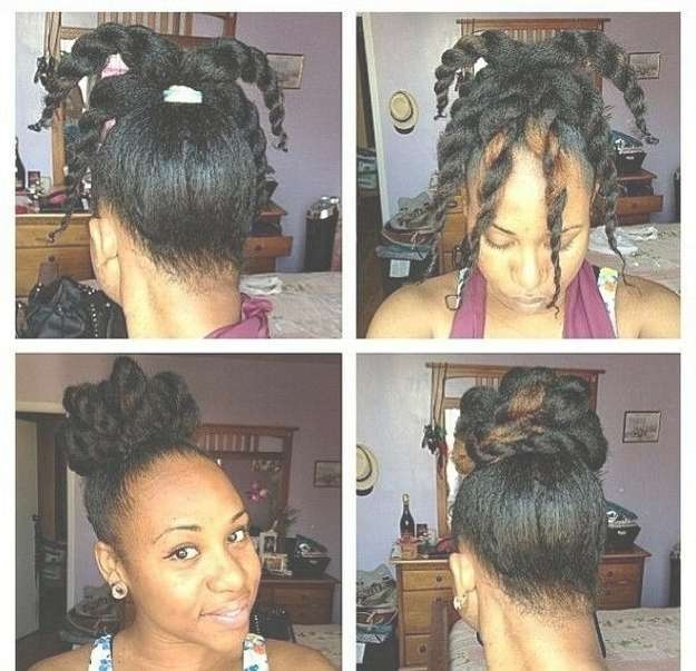 How To Style Medium Length Natural Black Hair Inside 2018 Medium Hairstyles For Natural Black Hair (View 12 of 15)