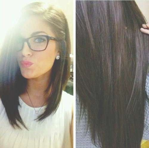 Image Result For Long Bob | Hair Styles | Pinterest | Dark Hair Throughout Short Long Bob Hairstyles (View 20 of 25)