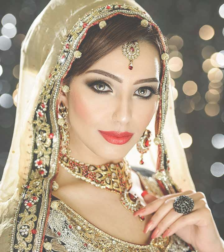 Indian Bridal Hairstyles Perfect For Your Wedding Intended For 2018 Indian Bridal Medium Hairstyles (View 25 of 25)