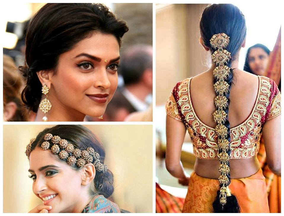 Indian Hairstyles Medium Length Hair In 2018 Indian Bridal Medium Hairstyles (View 7 of 25)
