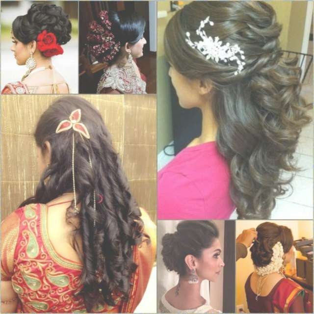 Indian Wedding Hairstyles And The Overall Arrangements | Aww Wedding With Most Popular Indian Wedding Medium Hairstyles (View 13 of 25)