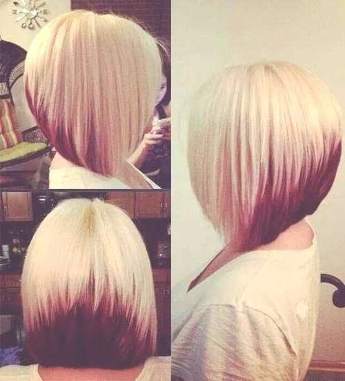 Inverted Bob Haircuts And Hairstyles 2018 | Long, Short, Medium With Latest Inverted Medium Haircuts (View 13 of 25)