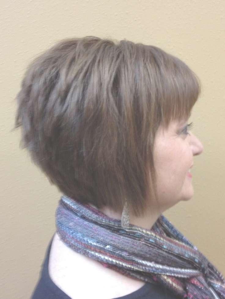 Inverted Bob With Bang: Short Haircuts – Popular Haircuts Within Best And Newest Inverted Bob Medium Haircuts (View 22 of 25)