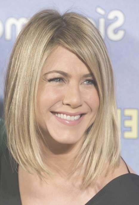 Jennifer Aniston Long Bob: Sexy Lob Hairstyle For Women inside Jennifer Aniston Long Bob Haircuts