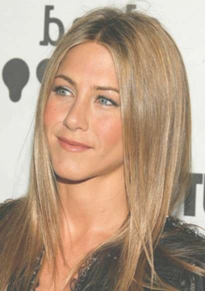 Jennifer Aniston Long Sleek Hairstyle - Hairstyles Weekly with regard to Jennifer Aniston Long Bob Haircuts