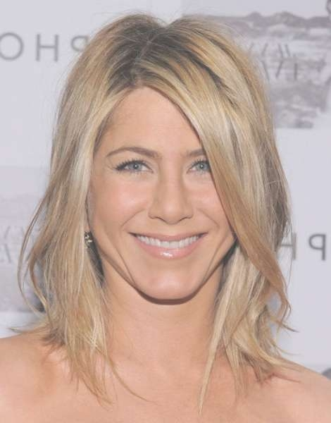 Jennifer Aniston Medium Hairstyles For Women – Popular Haircuts Within 2018 Medium Haircuts Layered Styles (View 19 of 25)