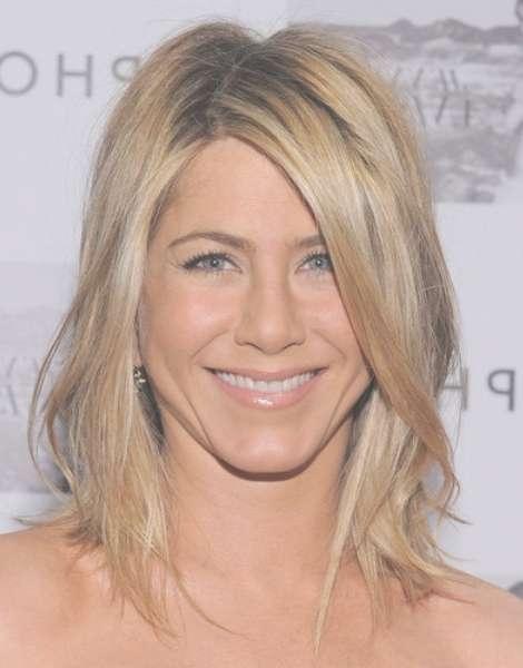 Jennifer Aniston Medium Hairstyles For Women - Popular Haircuts within 2018 Medium Haircuts Layered Styles