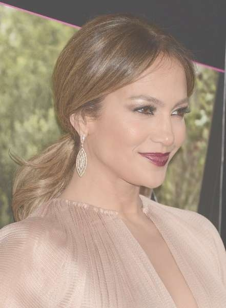 Jennifer Lopez Brown Ponytail Hair Styles - Popular Haircuts inside Most Recently Jennifer Lopez Medium Haircuts