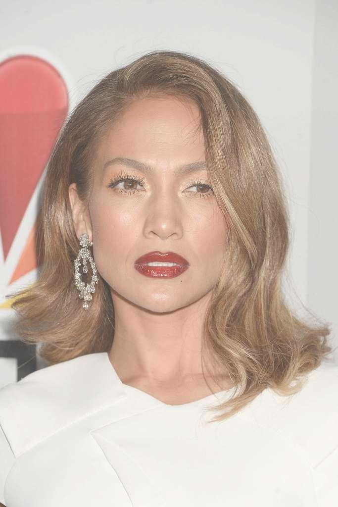 Jennifer Lopez Hair – Stylebistro Inside Recent Jennifer Lopez Medium Haircuts (View 8 of 25)